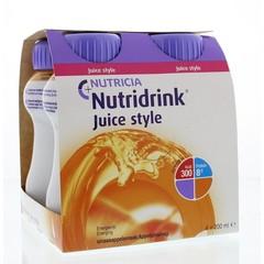 Nutridrink Juice style sinaas 200 ml (4 stuks)