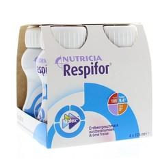Nutricia Respifor aardbei 125 ml (4 stuks)
