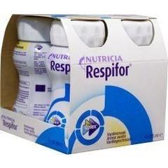 Nutricia Respifor vanille 125 ml (4 stuks)