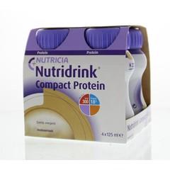 Nutridrink Compact protein mokka 125 ml (4 stuks)