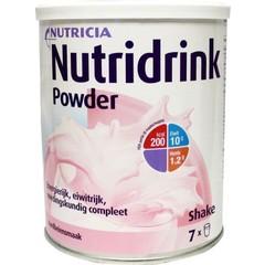 Nutridrink Aardbei poeder (335 gram)
