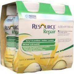 Resource Repair vanille 200 ml (4 stuks)
