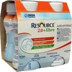 Resource 2-0 Fibre neutral 200 gram (4 stuks)