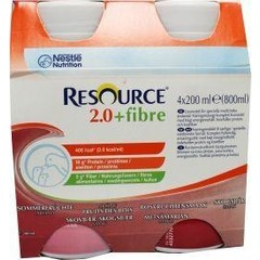 Resource 2-0 Fibre bosvruchten 200 gram (4 stuks)