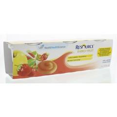 Resource Energy appel aardbei 3 x 125 gram (375 gram)