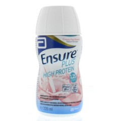 Ensure Plus high protein aardbei (220 ml)