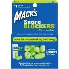 Macks Snore blockers (12 paar)