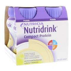 Nutricia Compact protein vanille 125 ml (4 stuks)