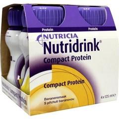 Nutricia Compact protein banaan 125 gram (4 stuks)