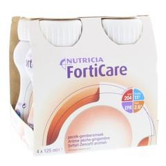 Nutricia Forticare peach/ginger 125 gram (4 stuks)