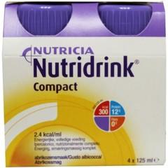 Nutridrink Compact abrikoos 125 ml (4 stuks)