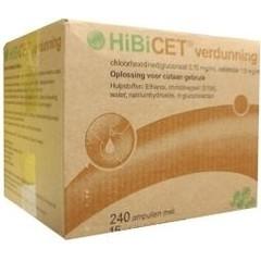 Hibicet Bottlepack 15 ml (240 ampullen)