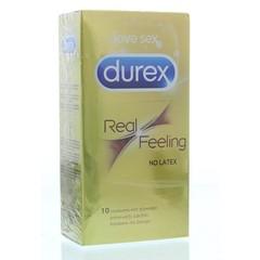 Durex Real feeling latexvrij (10 stuks)