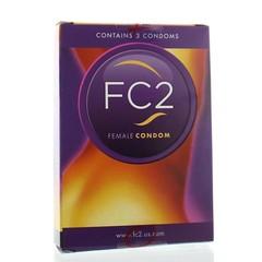 Femidom Vrouwencondoom (FC2) (3 stuks)