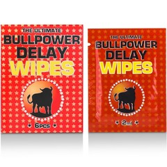 Bull Power Delay wipes sachets 2 ml (6 stuks)