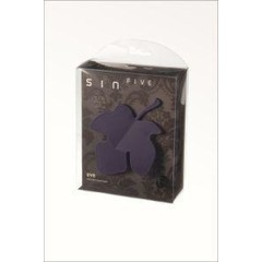 Sinfive Intimate massage eve dark violet (1 stuks)