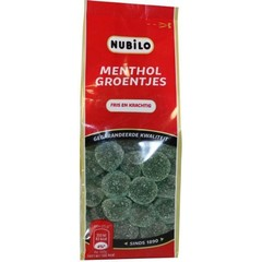 Nubilo Menthol groentjes (200 gram)