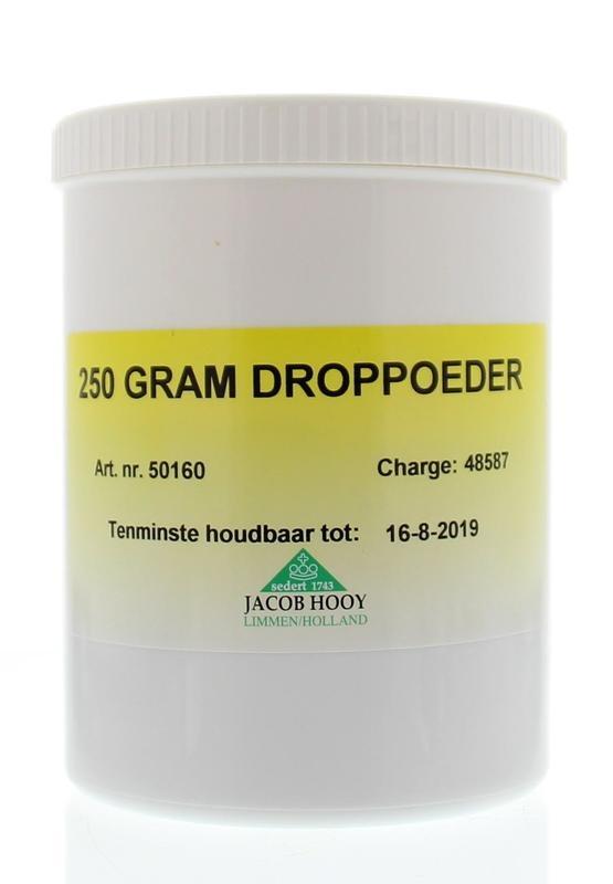 Jacob Hooy Jacob Hooy Droppoeder pot (250 gram)