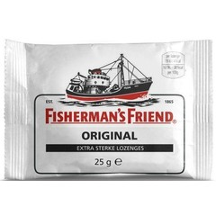 Fishermansfriend Original extra sterk (25 gram)