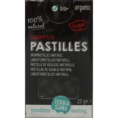 Terrasana Droppastilles naturel (25 gram)