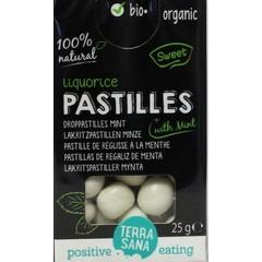 Terrasana Droppastilles mint (25 gram)