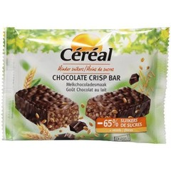Cereal Chocolate crisp bar 3 x 35 gram (1 stuks)
