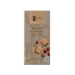 Ichoc White nougat crisp vegan (80 gram)