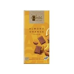 Ichoc Almond orange vegan (80 gram)