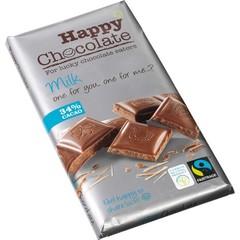 Happy Happy chocolate melk 34% (180 gram)