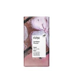 Vivani Chocolade puur met amandelen (100 gram)