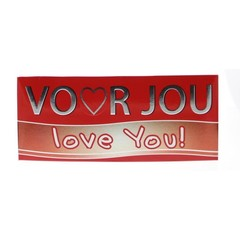 Voor Jou! Wensreep love you (70 gram)