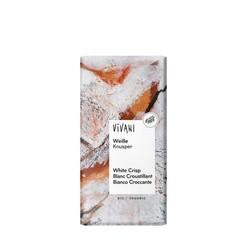 Vivani Chocolade wit met rice crispies (100 gram)