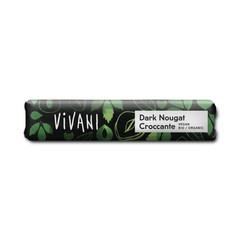 Vivani Chocolate To Go dark nougat croccante vegan (35 gram)