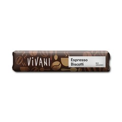 Vivani Chocolate To Go espresso biscotti (40 gram)