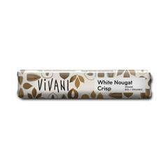 Vivani Chocolate To Go white nougat crisp vegan (35 gram)