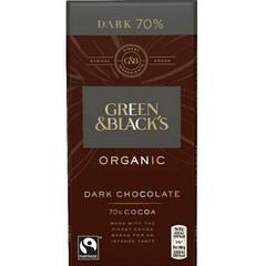 Green & Black Chocolade puur 70% (90 gram)