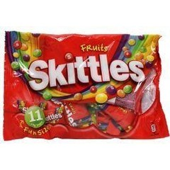 Skittles Fruits 18 gram (11 zakjes)