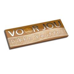 Voor Jou! Wensreep melkchocolade voor jou! knuffel (70 gram)