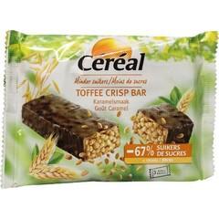 Cereal Toffee crips bar 35 gram (3 stuks)