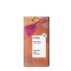Vivani Chocolade puur delicaat 71% (100 gram)
