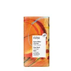 Vivani Chocolade puur met sinaasappel (100 gram)
