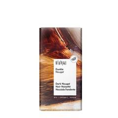 Vivani Chocolade puur praline nougat (100 gram)