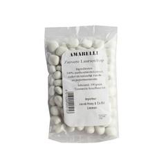 Amarelli Laurierdrop pepermunt wit zakje (100 gram)