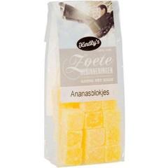 Kindly's Ananasblokjes zoete herinneringen (160 gram)