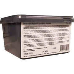 Meenk Bosbessen pastilles (2500 gram)