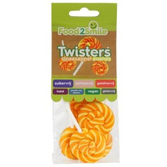 Food2Smile Twister sinaasappel/ananas (5 stuks)