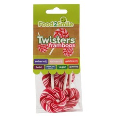 Food2Smile Twister framboos (5 stuks)