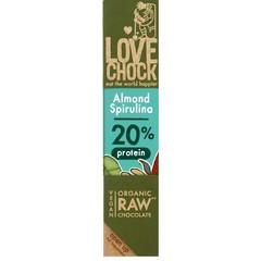 Lovechock Almond spirulina protein (40 gram)