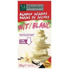 Damhert Chocoladetablet wit suikervrij (85 gram)