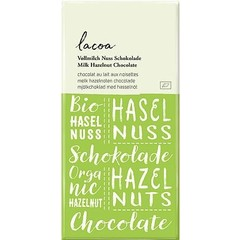 Lacoa Chocolade melk hazelnoot (80 gram)